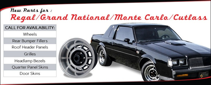 Goodmark Classic Car Hot Rod Muscle Car Restoration Parts - Muscle car parts