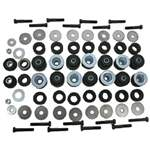 BODY BUSHING SET, W/ HARDWARE 64-67 PONTIAC