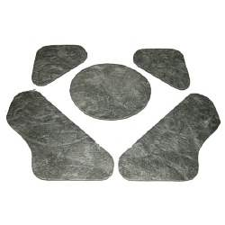 HOOD INSULATION PAD, 70-72 CHEVELLE (EXCEPT SS) - 4033-202-701S