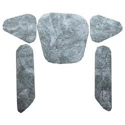 HOOD INSULATION PAD, 70-72 CHEVELLE SS (WITH OR WITHOUT COWL INDUCTION) - 4033-202-702S