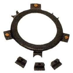 HORN RING TO STEERING WHEEL RETAINER, 65-66 MUSTANG (WOODGRAIN WHEEL) - 3020-542-656S