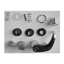 KIT, VENT WINDOW HANDLE, RH, 80-86 C/K, 87-88 R/V TRUCK WITH CHROME LOCK BUTTON - 4144-419-80R