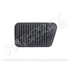 M/T BRAKE PEDAL PAD, 64-73 MUSTANG / COUGAR WITH DRUM BRAKES - 3020-912-643