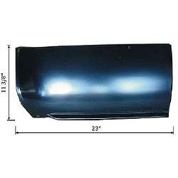 PATCH, LOWER FRONT BOXSIDE, RH SHORTBED, 73-86 C/K, 87 R/V, FLEETSIDE / WIDESIDE PICKUP - 4144-610-731R