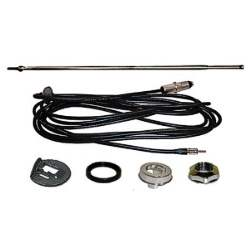 QUARTER ANTENNA ASSEMBLY, AM / FM RADIO, 67-68