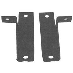 REAR BUMPER GUARD MOUNTING BRACKETS, 64-66 MUSTANG (PAIR) - 3020-897-64P