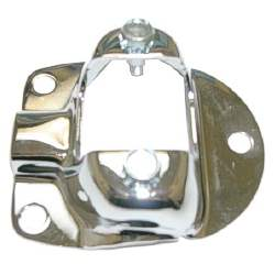 SHOCK TOWER CAP, CHROME, 67- 70 MUSTANG / COUGAR (USE 2) - 3021-360-67C