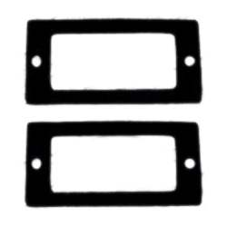 SIDE MARKER GASKET SET, 68 ALL CHEVY CARS (4 PIECES) ALSO 69 NOVA AND CHEVROLET - 4012-142-68S