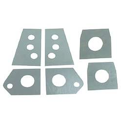 "SUBFRAME MOUNT PLATE REPAIR KIT, 67-81 ""F"", 68-74 ""X"" (6 PIECES) - 4020-392-671S"