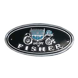 FISHER BODY STICKER,
