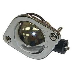 LICENSE LAMP ASSEMBLY, 2 REQUIRED - 4030-886-64S