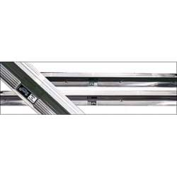 DRIVER OR PASSENGER SIDE DOOR SILL PLATE WITH EMBLEM FOR 2-DOOR VEHICLES - 4035-575-78