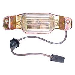 LICENSE LAMP ASSEMBLY FOR ALL WAGON MODELS, OTHERS AS SPECIFIED - 4081-886-66