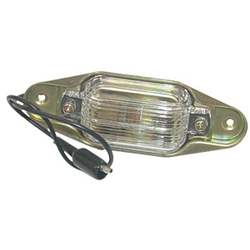 69-91 BLAZER/JIMMY; 67-91 C/K TRUCK/SUBURBAN LICENSE LAMP ASSEMBLY - 4143-886-67