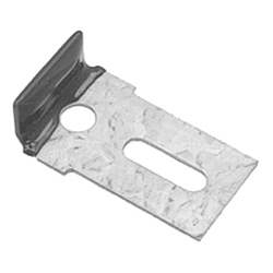 WINDSHIELD GLASS STOP CLIP, GALVANIZED WITH RUBBER COAT - HW2076
