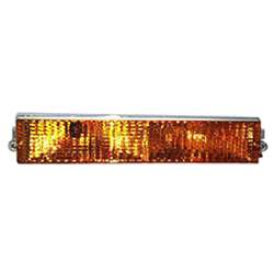 SIDE MARKER AMBER LAMP ASSEMBLY FRONT RH BUMPER MOUNTED, 84-87 REGAL - 4462-071-84R