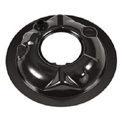 AIR CLEANER BASE, 66-74 MOST CHEVY HP/SHP V8 MODELS FOR OPEN ELEMENT AIR CLEANER - 4031-230-666