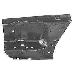 APRON, FENDER, FRONT, RH, 69- 70 MUSTANG / COUGAR - 3022-355-69R