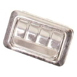 "ASHTRAY, QUARTER, 68-69 ""X"", 68-69 F, 68-69 A SDN / HTP W/ RIBBED COVER (INSERT NOT INCLU - 4012-647-68"