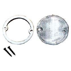 BACK-UP LAMP LENS W/ GASKET, 69-70 MUSTANG (USE 2) - 3022-847-69S
