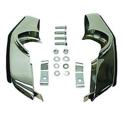 BUMPER GUARD KIT, FRONT, 69 CAMARO, INCLUDES GUARDS, BRKTS CUSHIONS, AND HARDWARE - 4020-015-69S