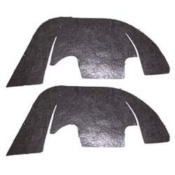 CONTROL ARM SEALS, 69 CHEVELLE / EL CAMINO WITH PLASTIC INNER FENDERS (INC. ST - 4032-351-69S
