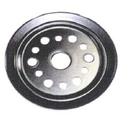 CRANK PULLEY, 64-68 SB CHEVY V8 (EXCEPT SHP) 1 GROOVE 6-3/4 INCH DIAMETER - 4030-266-641