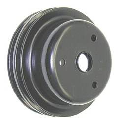 CRANK PULLEY, DEEP GROOVE, 69- 72 CAMARO Z28 (SHP) (2 GROOVE) LONG WATER PUMP - 4020-266-693