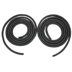 DOOR JAMB WINDLACE, BLACK, 64-67