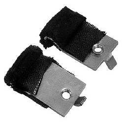 DOOR WINDOW GUIDE STABILIZERS, PAIR,70-72 GM