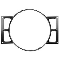 FAN SHROUD, 64-67 CHEVELLE SB V8 EXCEPT A/C OR HD COOLING (STEEL) - 4030-310-641