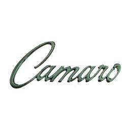 "FENDER EMBLEM, ""Camaro"", 68-69 CAMARO (USE 2 PER CAR) - 4020-130-681"