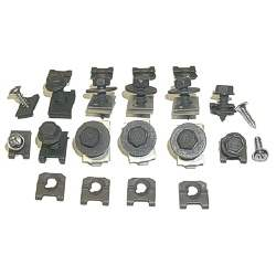 FENDER EXTENSION HARDWARE KIT, 70 CHEVELLE / EL CAMINO (34 PIECES) - 4033-110-70S