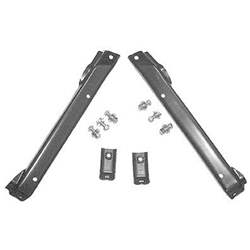 FRONT BUMPER BRACKET SET, 71-72 CHEVY 2WD TRUCK (4 PIECES W/ FRAME BOLTS) - 4143-005-71S
