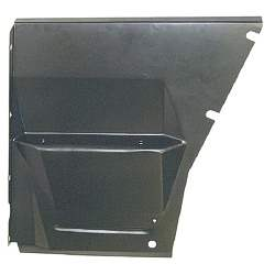 FRONT FENDER APRON, RH, 62-67 CHEVY II / NOVA SECTION UNDER BATTER TRAY - 4010-355-621R